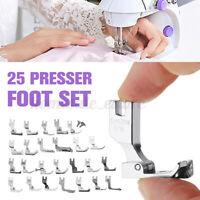 25 Pcs Presser Foot Set to JUKI DDL-5550 8500 8700 Industrial Sewing Machines US