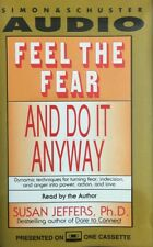 Susan Jeffers - Feel The Fear And Do It Anyway - Audiobook Cassette Tape (C189)