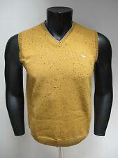 HARMONT&BLAINE gilet uomo lana art.H1324 col.GIALLO tg.M inverno 2013