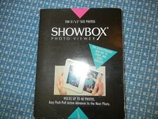"Showbox Photo Viewer for 40   3 ½"" x 5"" Photos  NWOT"