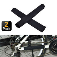 2 x Neoprene Bike Bicycle Chainstay Frame Protector Cover Chain Stay Guard AU