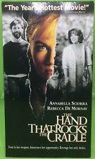 THE HAND THAT ROCKS THE CRADLE VHS 1992 Rebecca De Mornay Annabella Sciorra