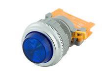 PLN-30 Blue 30mm Pilot Panel Indicator Light LED Lamp 120V AC/DC