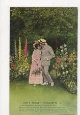 Dont Forget Mignonette Bamforth Song Postcard 381a