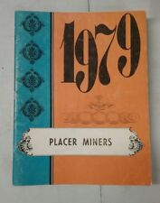 Auburn CA Placer Miners Elementary School yearbook California 1979