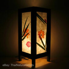 Flower Corded Asian/Oriental Lamps