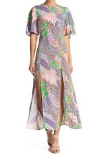 Topshop Austin Floral Patchwork Midi Dress UK 16 EU 44 US 12 BNWT