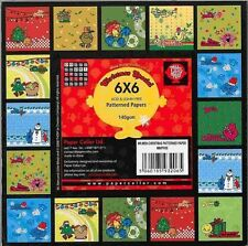 """Mr Men Christmas Sample Papers (10 sheets x 6x6"""")    mm/pp/05"""