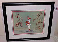 warner brothers cel bugs bunny baseball bugs signed friz freleng rare art cell