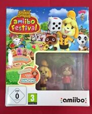Animal Crossing: Amiibo Festival - 2 amiibos 3 cartas - NINTENDO WiiU - NUEVO