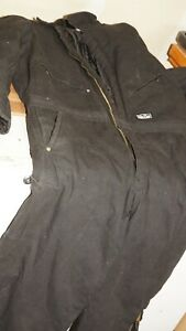 Walls Men's Large Size 38-40 Insulated Coveralls nice clean