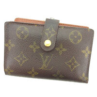 Louis Vuitton Wallet Purse Monogram Brown Woman unisex Authentic Used T2216