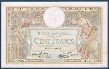 FRANCE - 100 FRANCS L.O MERSON Fay n° 25. 26 du 15-7-1938.DG en TTB  M.60235 265