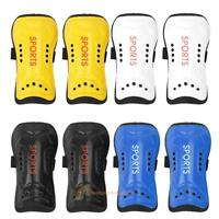 Light Soft Football Shin Pads Soccer Guards Sports Leg Protector Kids Adult R1BO