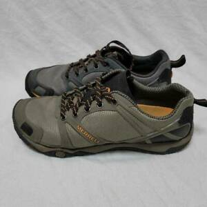 Merrell Mens Proterra Hiking Shoes Gray J40993 Lace Up Low Top Sneakers 9.5M