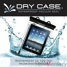 GENUINE DryCase Vacuum Seal Waterproof Bag Dry Case Strap for Apple iPad 5 4 3 2