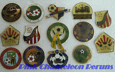 Mixed Lot of 14 Youth Soccer Team Sport Lapel Hat Pin Tie Tack Badge