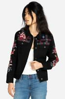 Johnny Was Rae Black Weekend Jacket Embroidered New Boho Chic W42718