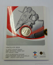 Canada RCM 2007 Official First Day Olympic Winter Hockey Games 2010 25 Cent Coin