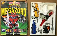 1993 Power Rangers - Deluxe Set Megazord - Incomplete Parts Lot w/ Box mmpr