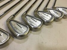 ACER XDS2 Irons Stiff 3 4 5 6 7 8 9 PW Excellent Condition W/ Lamkin Grips Right