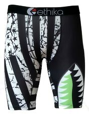 Ethika Stripe shark Printing Men Underwear Sport Short Boxer Pants US Size S-XXL
