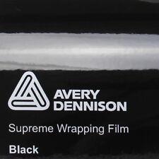 20,75€/m² Avery Supreme Wrapping Film Gloss Black Autofolie Schwarz Glanz Folie