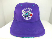 VTG 90's Charlotte Hornets NBA Hat Vintage Snapback Cap One Size New NWT TWINS