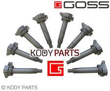IGNITION COILS 8 PACK - for Lexus SC430 UZZ40 V8 4.3L (3UZ-FE engine) GOSS