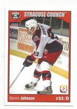 2004-05 Syracuse Crunch (AHL) Aaron Johnson (Adler Mannheim)