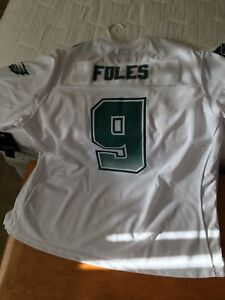 NFL Authentic Fanatics Eagles Nick Foles White Jersey Size 2XL