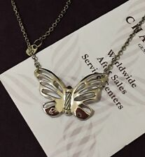 """Clearance!!! CHARRIOL Butterfly Stainless Steel 20"""" Necklace 🦋🦋🦋"""