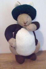 """Benjamin Bunny Di Beatrix Potter una nuova mano a maglia bambola giocattolo/38 cm/15"""" """"Tall"""