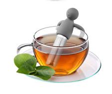 Tea Strainer Decompression Humanoid Food Grade Stainless Steel Filter