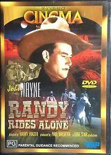 Randy Rides Alone dvd - John Wayne