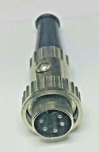 CEA-CB5DF twist-lock 5-pin DIN mic plug Craig Johnson CB's, Regency Polaris VHF