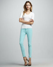 Jeans JOES Aqua Skinny Size 25 S Joe Rise Ankle Women Wash Blue Denim Stretc