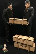 1/6 scale crate box WWII German ammo (Set of 3) for 1/6 diorama and vehicle