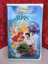 The Little Mermaid VHS Black Diamond Classic. Original Banned Cover Art. RARE!