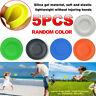 5X Mini Pocket Flexible New Spin Catching Game Flying Disc Garden Beach Outdoor!