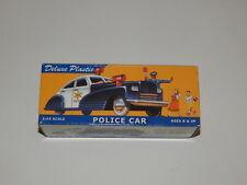 Deluxe Plastic Police Car 1:43 Scale Binary Arts 2000 NIB R18822