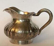 Silbernes Milchkännchen, Besitz FREIHERREN VON LINSINGEN, Wappen, 750er Silber