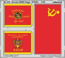 Eduard PE 36370 1/35 Soviet WWII flags STEEL