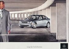 2005 Mercedes Benz E320 E500 E55 AMG 34-page Car Sales Brochure Catalog E-Class