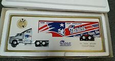 NE PATRIOTS 1995 White Rose Limited Ed NFL Collectible DieCast Trailer Truck