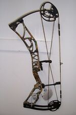 new elite ritual 30 right hand 60# real tree camo riser and black limbs