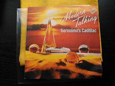 SINGLE PROMO MODERN TALKING - GERONIMO'S CADILLAC - ARIOLA SPAIN 1986 VG+