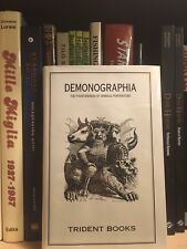 Demonographia: The Fountainhead of Diabolic Portraiture *Rare Occult Book*