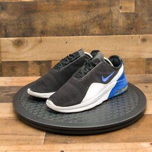 Nike Air Max Motion 2 Mens Athletic Shoes Running Training Black Blue White Sz 9