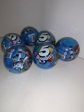 New Zuru 5 Surprise Blue Mystery Balls, Sealed (Lot of 6) Toys Fun Exciting N2